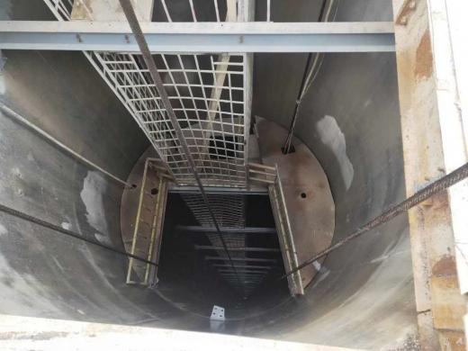 陕西矿用井筒梯子间